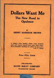 dollars-want-me-henry-harrison-brown