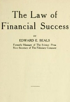 the-law-of-financial-success-edward-e-beals